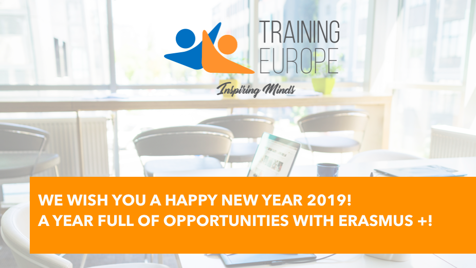 Happy New 2019 with Erasmus +!